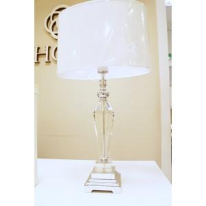 Lampa stojąca z kryształem