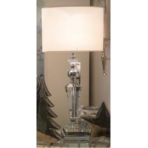 Lampa stołowa z kryształem
