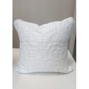 Poduszka satynowa biała