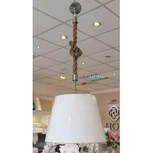 Lampa wisząca - sznur