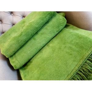 zielony kocyk