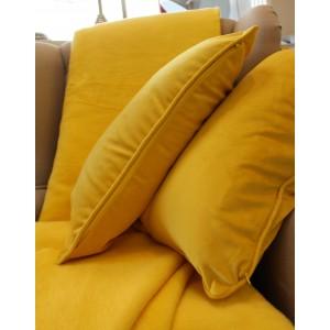 żółty kocyk