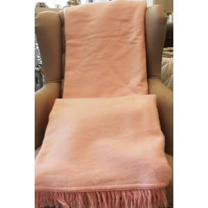 różowy kocyk