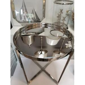 metalowy stolik