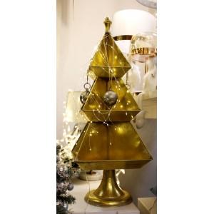 złota choinka 100 cm