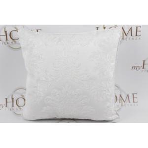 Poduszka FLORAL biała